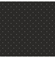 Tile dark pattern with grey polka dots on black vector image