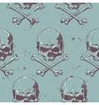 Grunge Skull Seamless 1 vector image