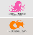 Hair Salon Logo vector image