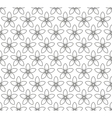 Floral Seamless Pattern with Jasmine Flowers vector image