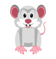 isolated cute mouse vector image