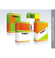Box- packaging vector image
