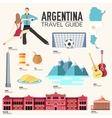 Country Argentina travel vacation guide of goods vector image