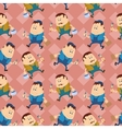 Worker seamless pattern vector image