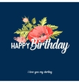 Happy birthday text lettering vector image vector image