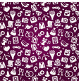 wedding seamless pattern vector image vector image
