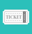 ticket template vector image