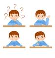 schoolchild avatars collection vector image
