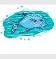 bluefish vector image