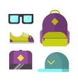 Modern clothes icon vector image