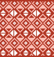 pixel triangles seamless pattern vector image vector image