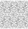 Seamless vintage light gray background vector image