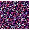 Butterflies Pattern Pink Big vector image