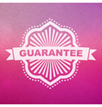 guarantee sign vector image