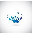 Design elements Water icon vector image vector image