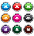 hat set 9 collection vector image