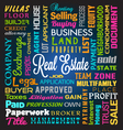 Real Estate Theme Background vector image vector image
