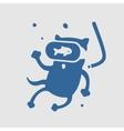 Symbol Cat Diver vector image