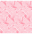 pink seamless pattern texture with zebra vector image