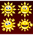 Funny Sun vector image vector image