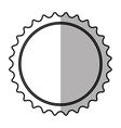 banner blank symbol shadow vector image