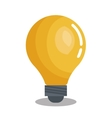 bulb idea solution think design graphic vector image
