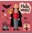 Halloween devil Cartoon vector image