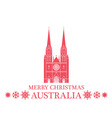 Greeting Card Australia vector image