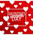 valentines day super sale vector image