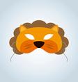 Lion Mask vector image