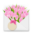 mothers day retro postcard vector image