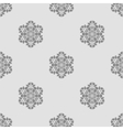 Creative Ornamental Seamless Grey Pattern vector image