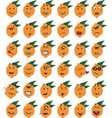 set of funny lemon character emojis vector image