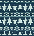 pixel spruces seamless pattern vector image vector image