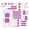 technology scheme vector image