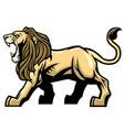 Lion mascot vector image vector image
