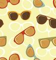 Fashion glasses pattern vector image