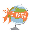 i voted vector image