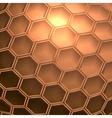 futuristic polygonal background vector image
