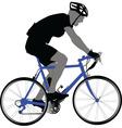 biker - vector image