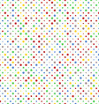 Pattern of Vibrant Dots vector image vector image