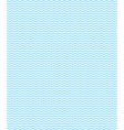 Seamless sea pattern Light blue waves on white vector image