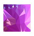 Light Medium Orchid Purple Abstract Low Polygon vector image