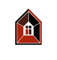 Property developer conceptual business icon vector image
