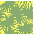 floral seamless Green vector image