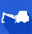 work machine icon vector image