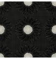 Grunge sunflower pattern vector image