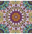 Violet colored seamless pattern with eastern vector image
