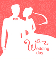 wedding day rose vector image