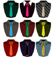 Men shirt vector image vector image